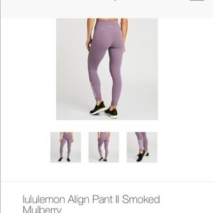 lululemon athletica Pants - Soul Cycle Lululemon Align 11 - new with tags